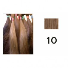 Russian Double Drawn Hair  25 grams colour 10