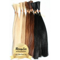 Russian Double drawn Virgin hair 10''